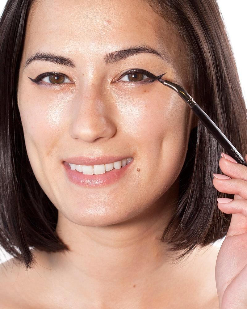 Angled Eyeliner Brush - Beth Bender Beauty