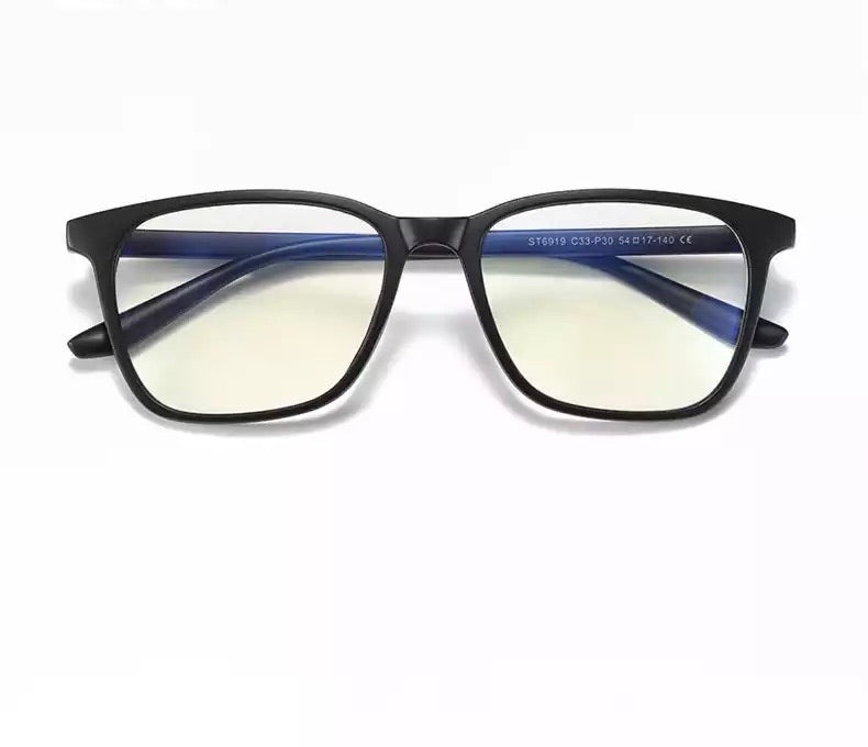 Unisex Blue Light Blocking Glasses for Computer Use, Anti Eyestrain UV Filter Eyeglasses Lightweight Frame