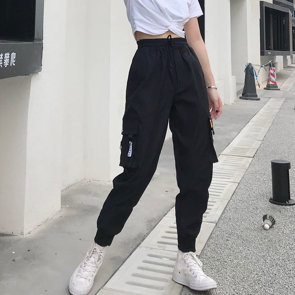 High Waist Loose Streetwear pants