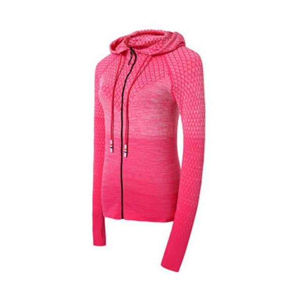 Women Long Sleeve Yoga Coat