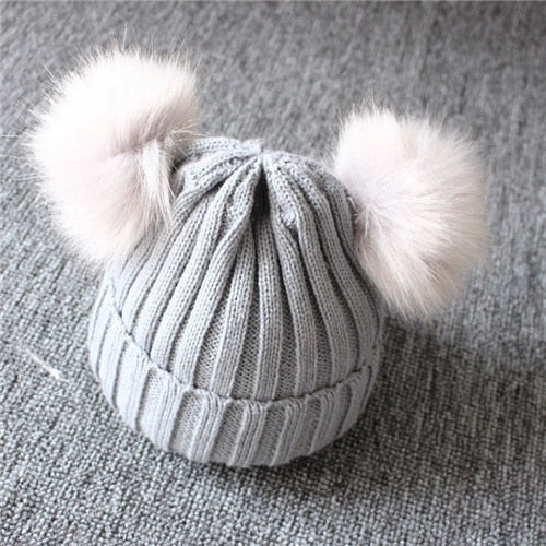 Baby Wool Knitted Hat
