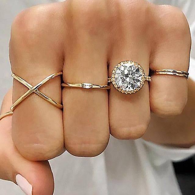 Geometric Joint Ring Set