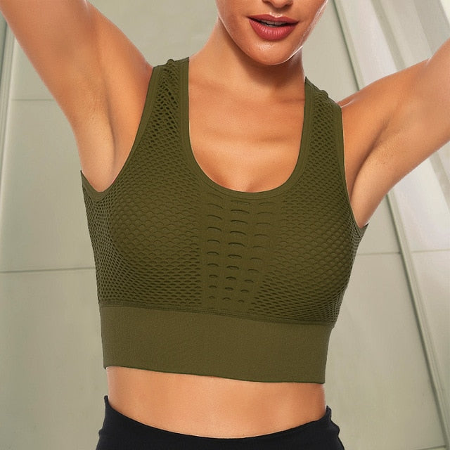 Women Seamless Sports Bra