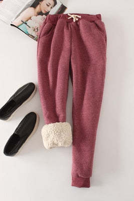 Women Pant Winter Thick