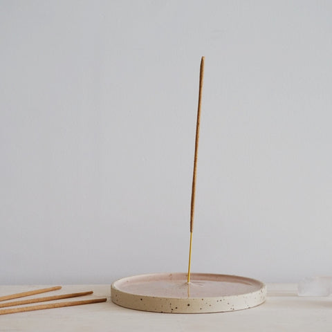 Incense holder - Soft blush
