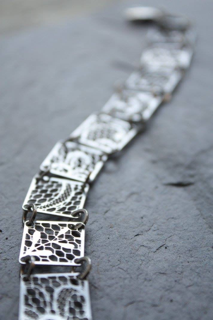 Steel Lace Jewelry Designs