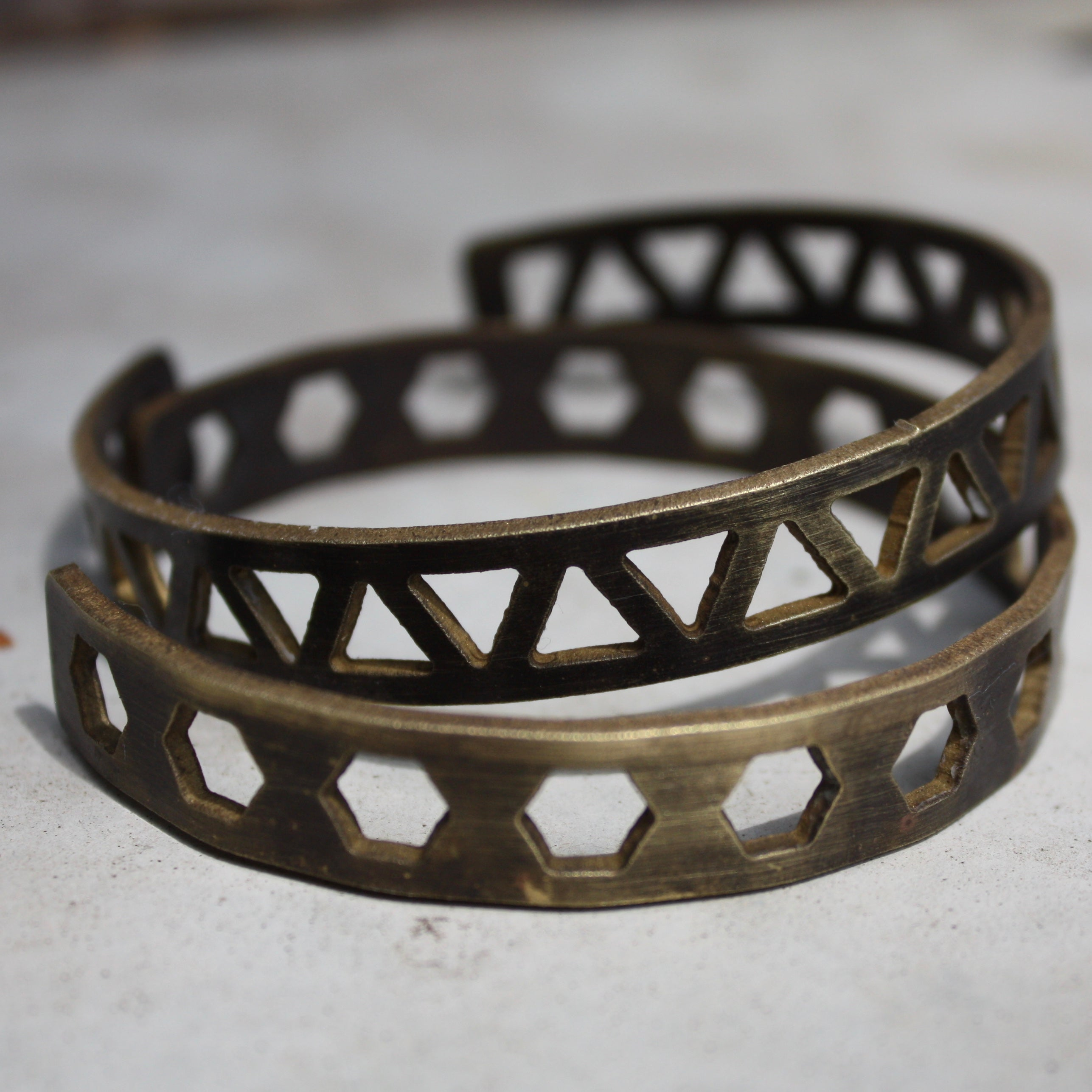 New Truss Inspired Bangle Cuffs