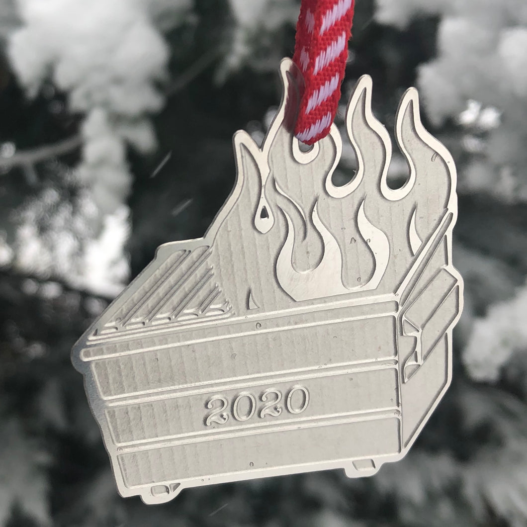 2020 - Dumpster Fire Ornament
