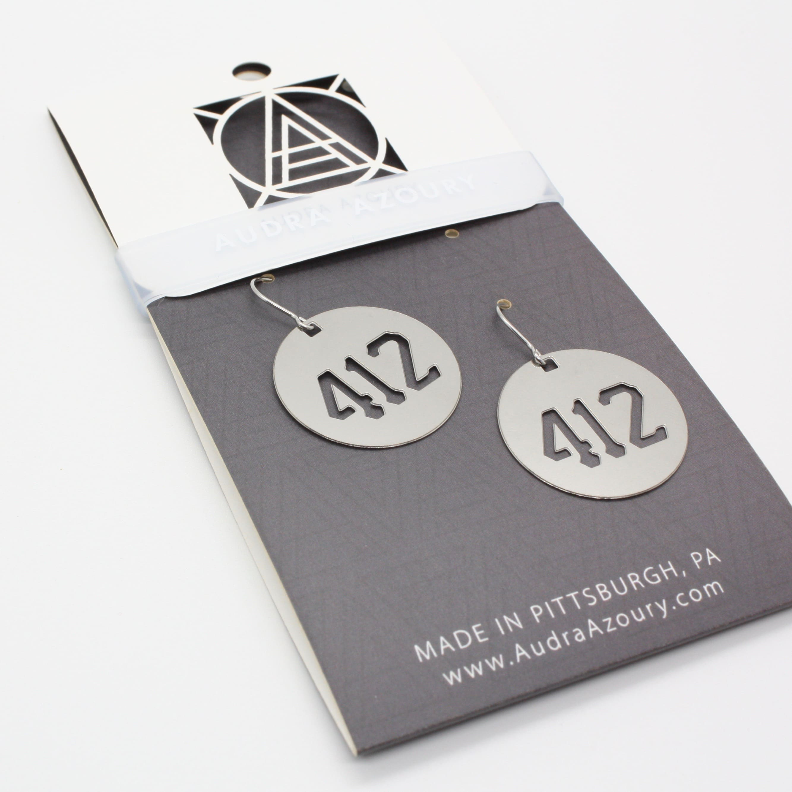 Pittsburgh Earrings | 412