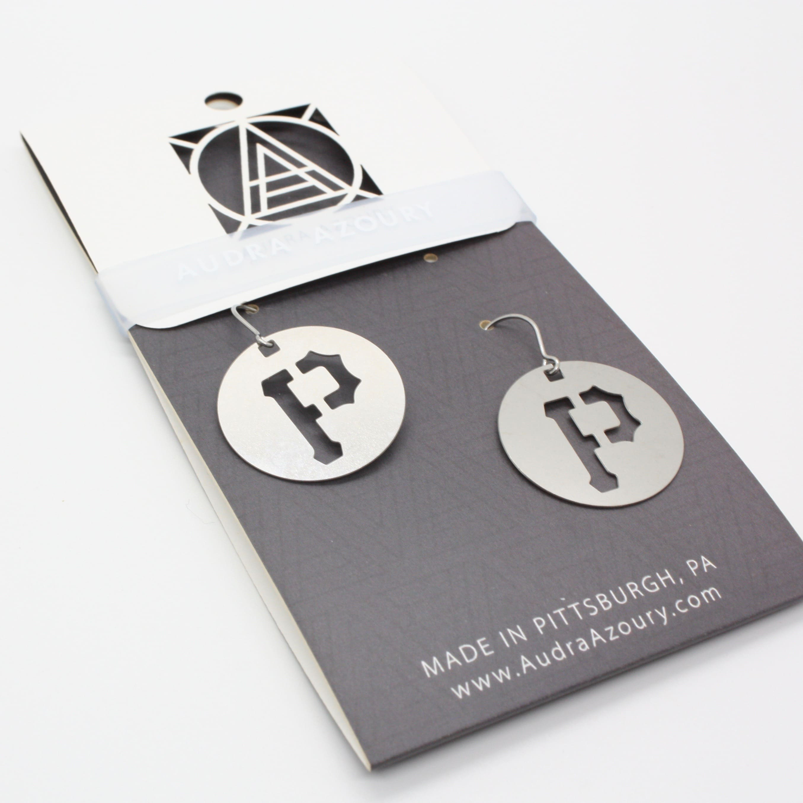 Pittsburgh Earrings | Pirates P