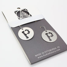Load image into Gallery viewer, Pittsburgh Earrings | Pirates P