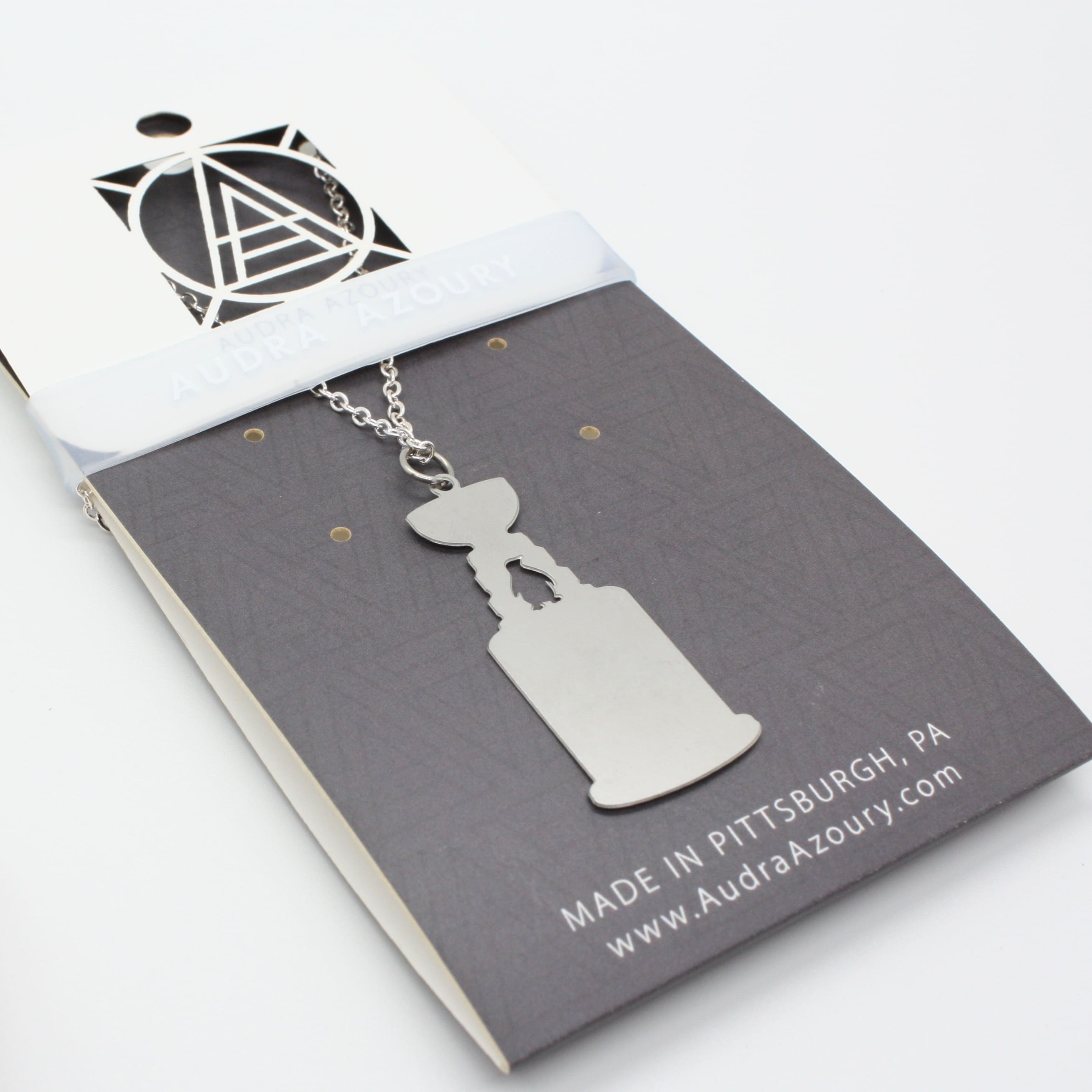 Pittsburgh Necklace | Penguin & Stanley Cup
