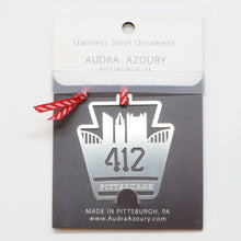 Load image into Gallery viewer, Keystone Ornament | 412 Skyline