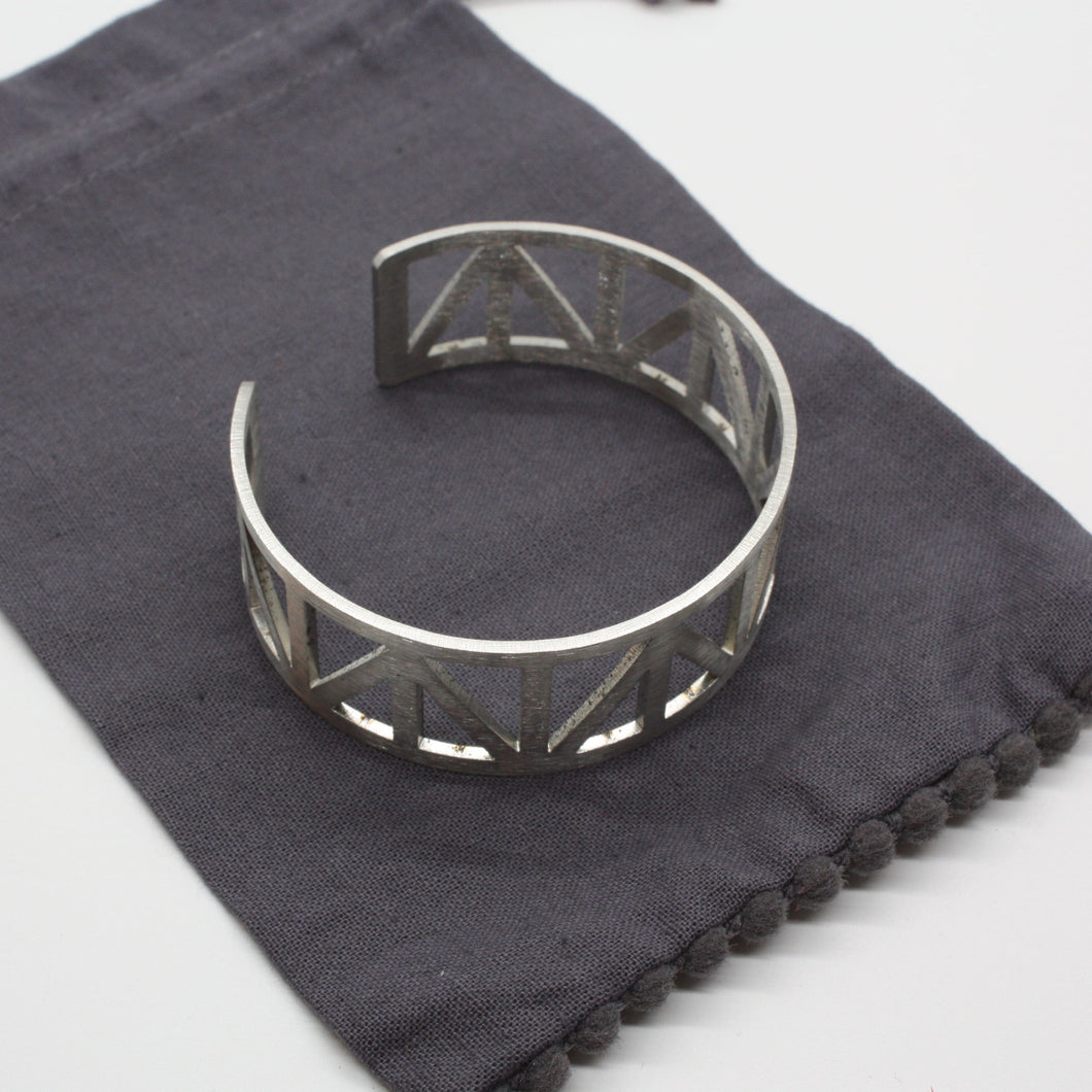 Steel Bracelet | Peace Truss