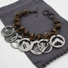 Load image into Gallery viewer, Pittsburgh Charm Bracelet | Steel Town Collection
