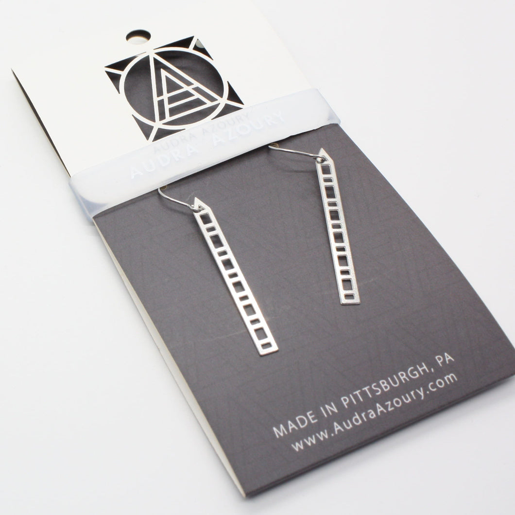 Pittsburgh Earrings | PPG Inspired