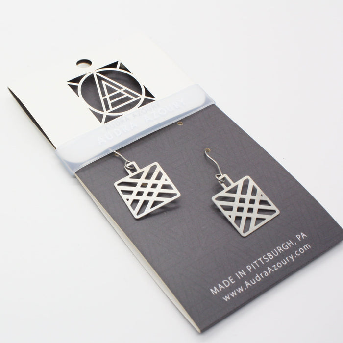 Square Patch Earrings