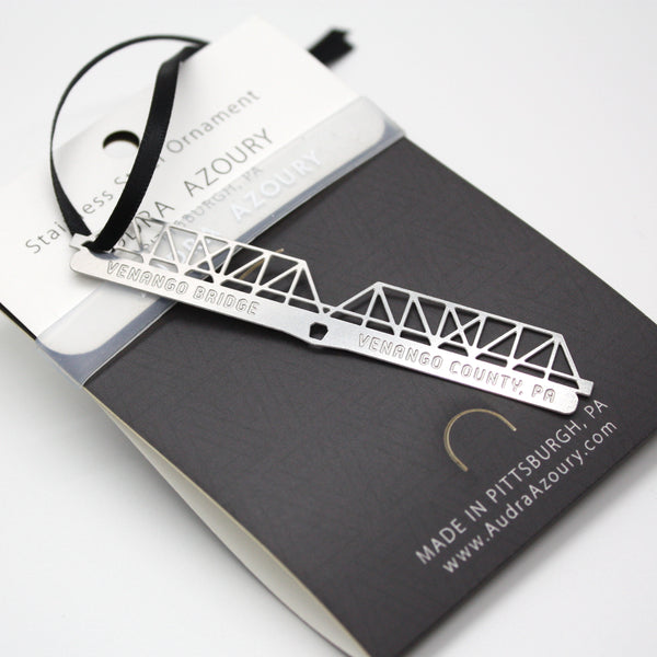 Pittsburgh Bridge Ornament | Venango