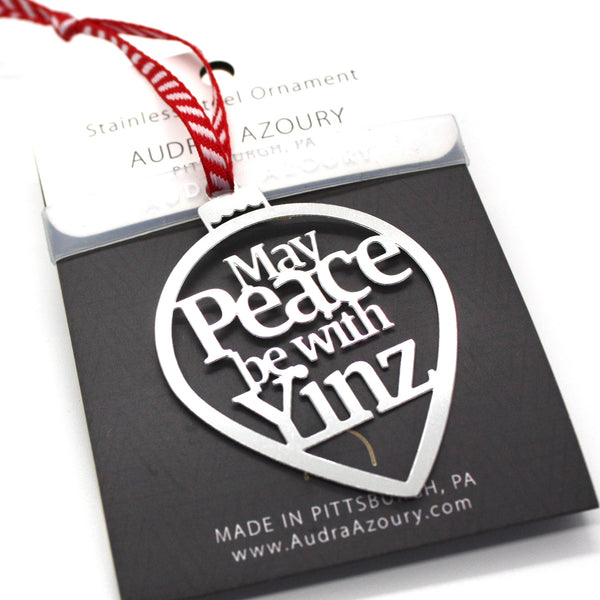 Ornament | May Peace be with Yinz