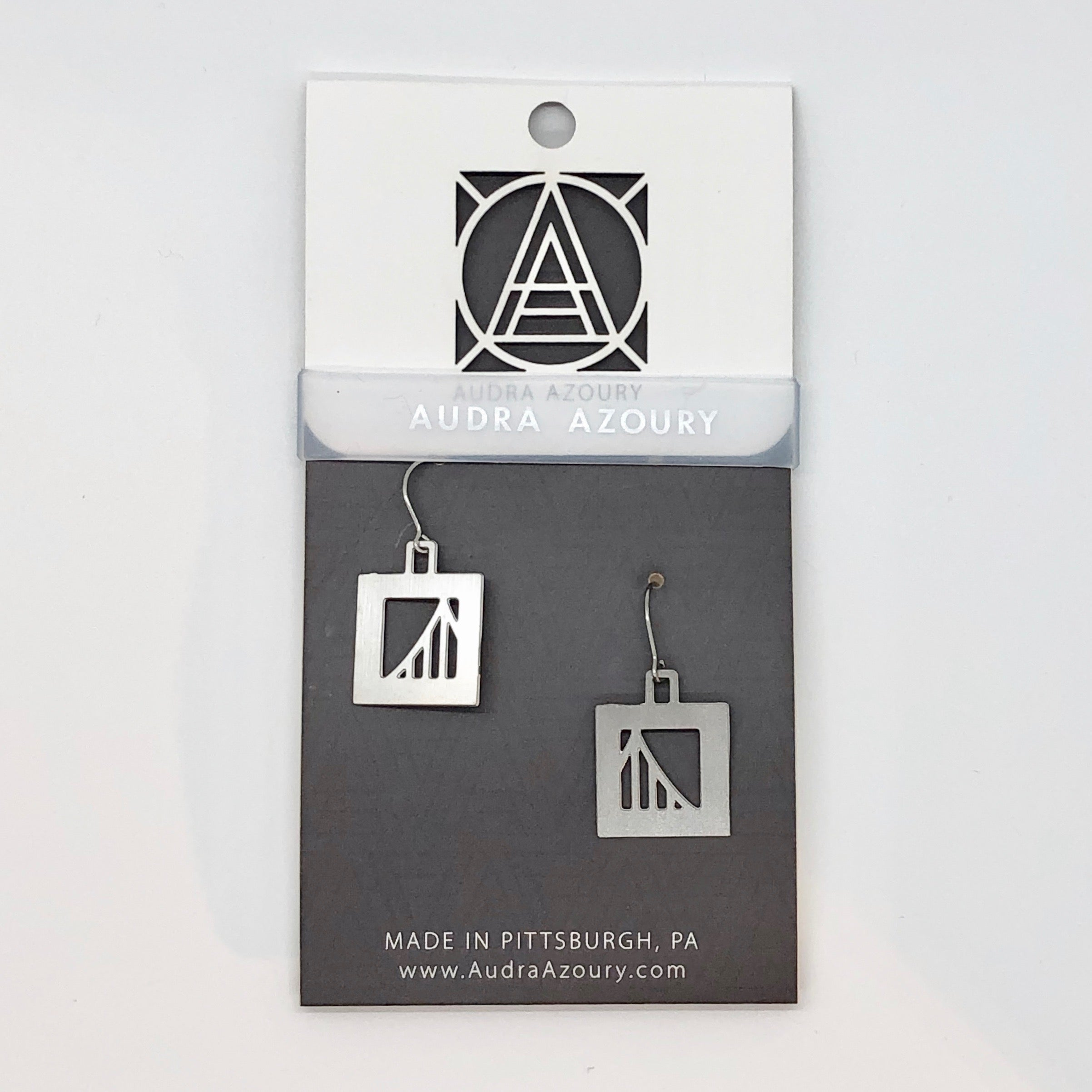 Bridge Earrings | Suspension Bridge