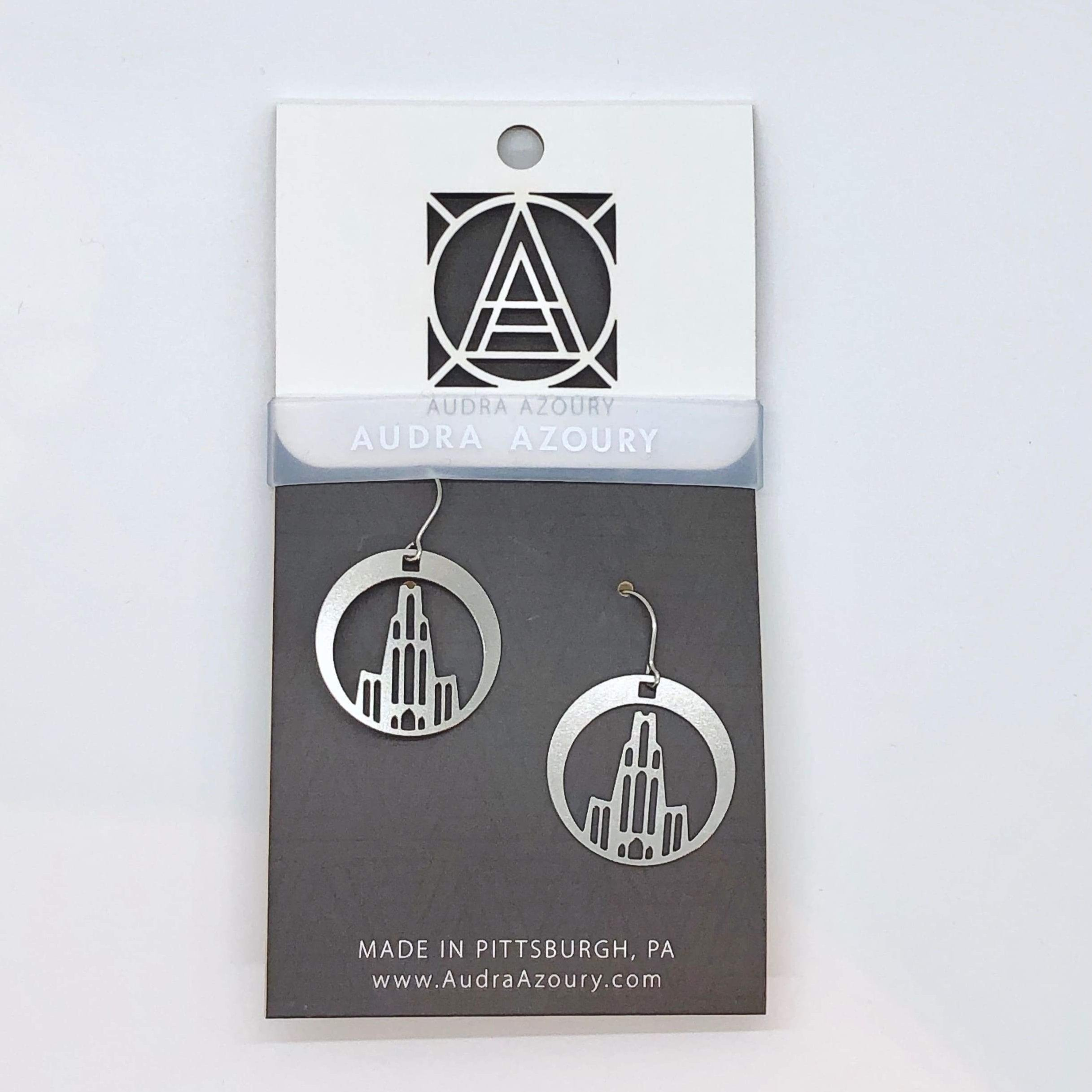 Pittsburgh Earrings | Cathedral