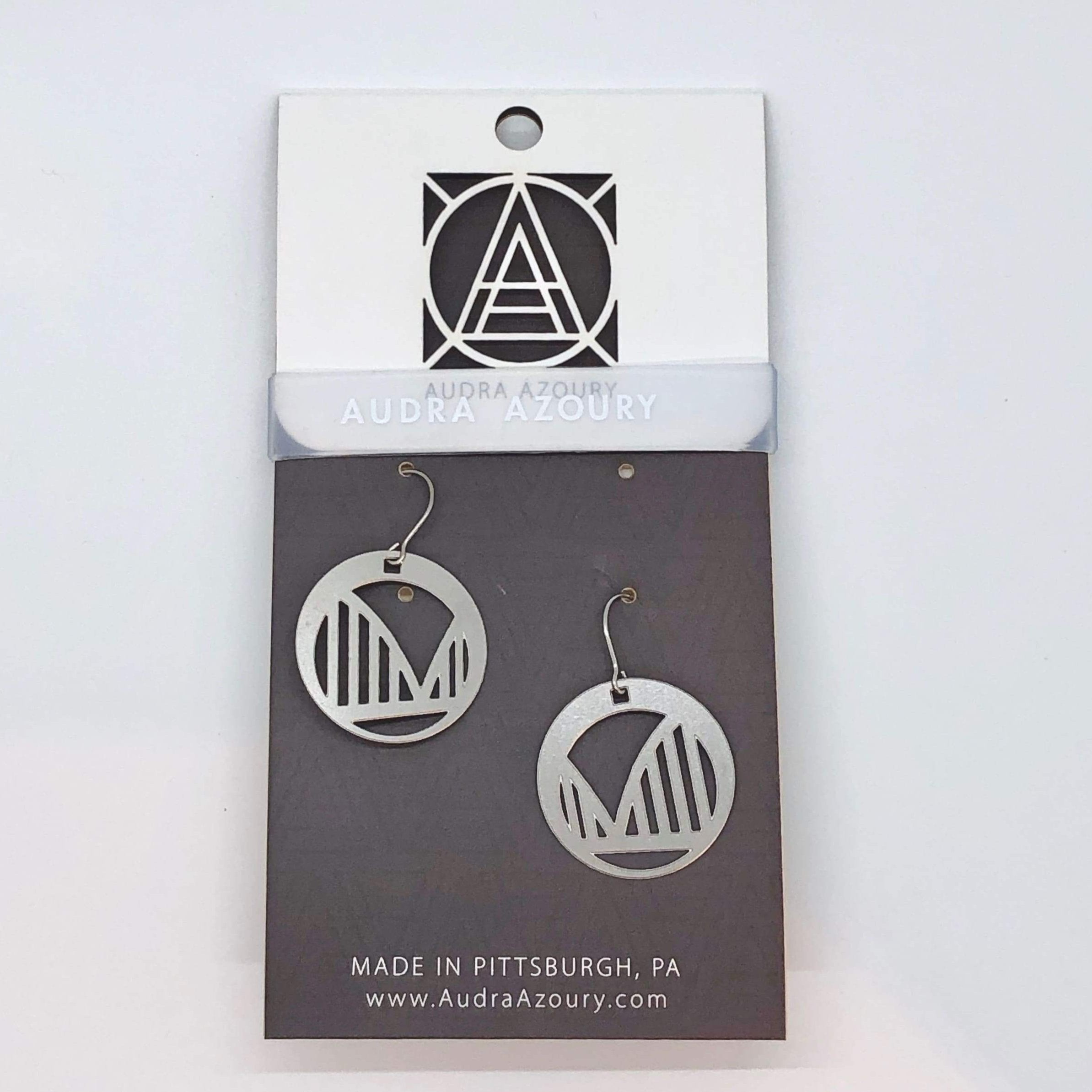 Pittsburgh Earrings | Bridge