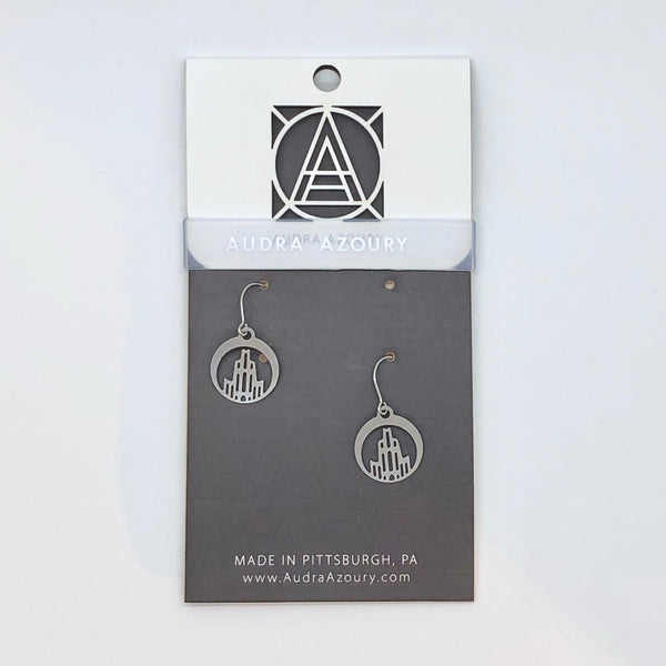 Pittsburgh Earrings | Mini-Cathedral