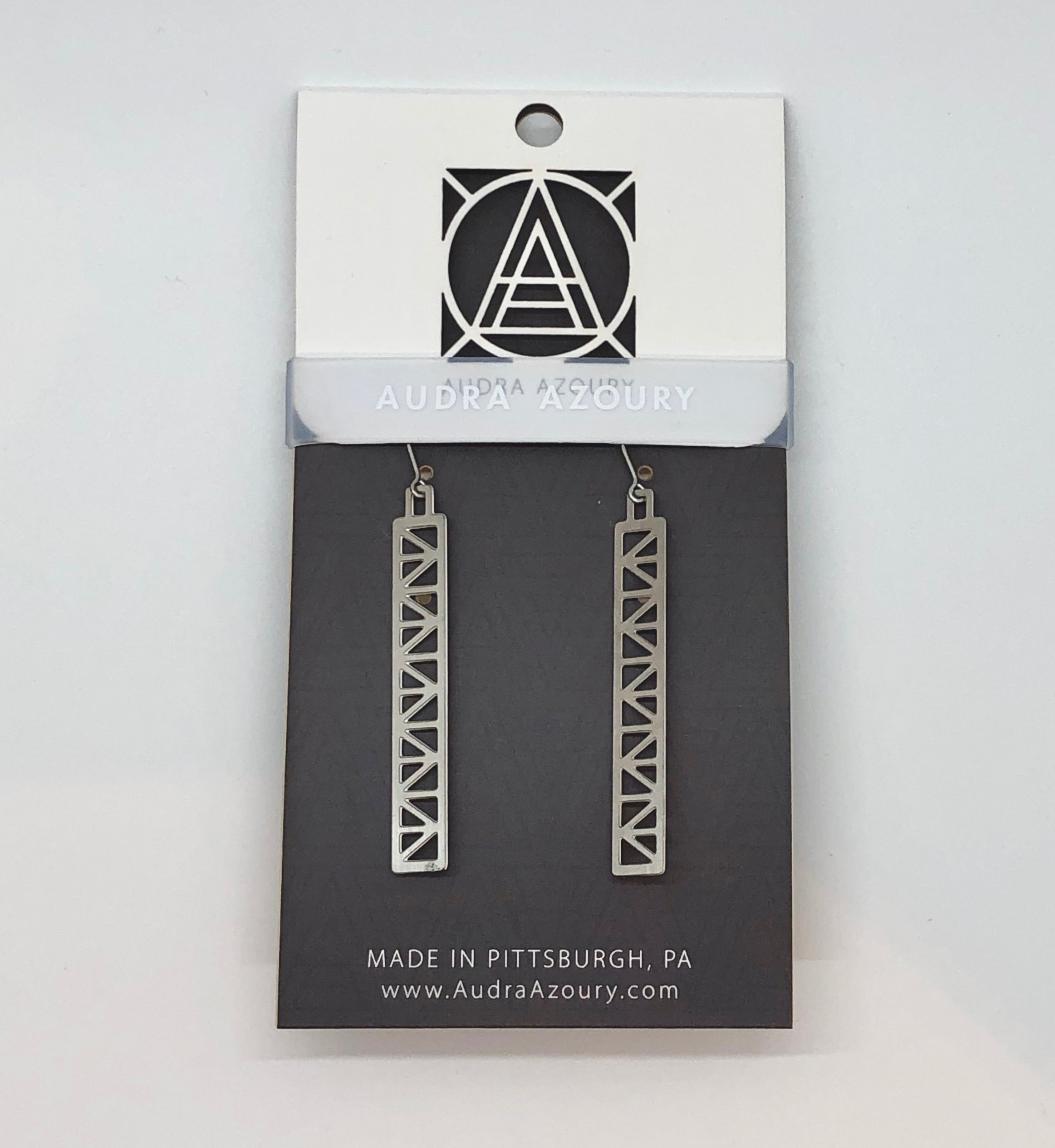 Bridge Earrings | Peace Truss