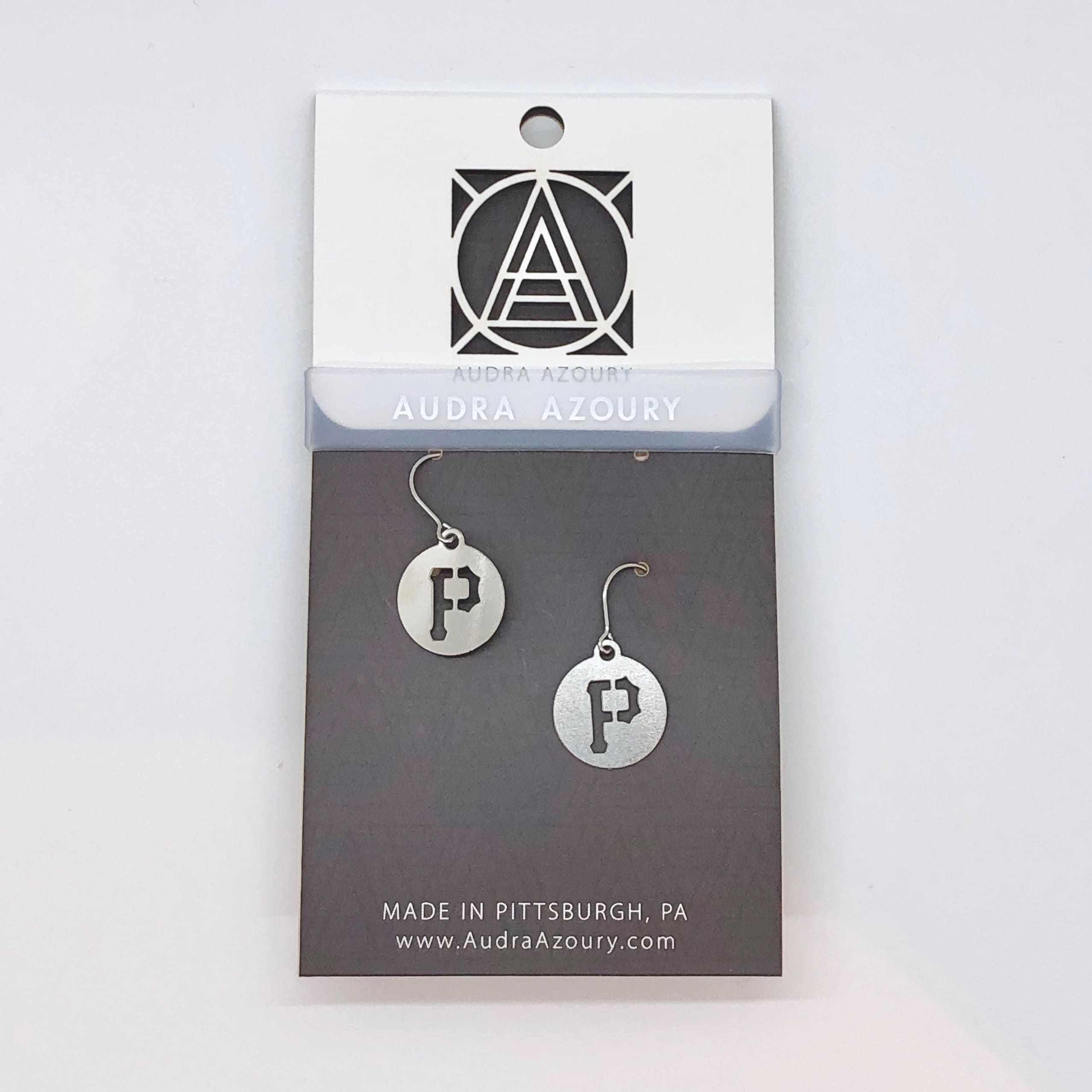 Pittsburgh Earrings | Mini-P