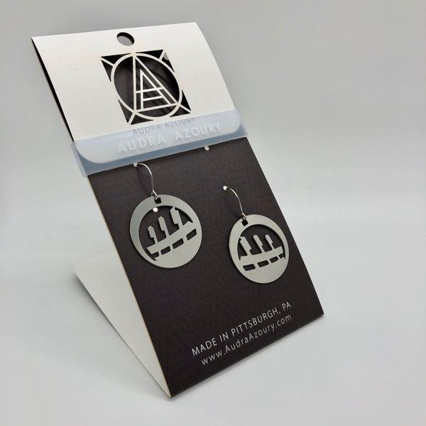 Pittsburgh Earrings | Baseball Park