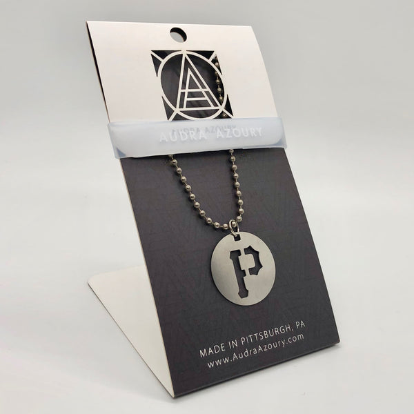 Pittsburgh Necklace | Pirates P