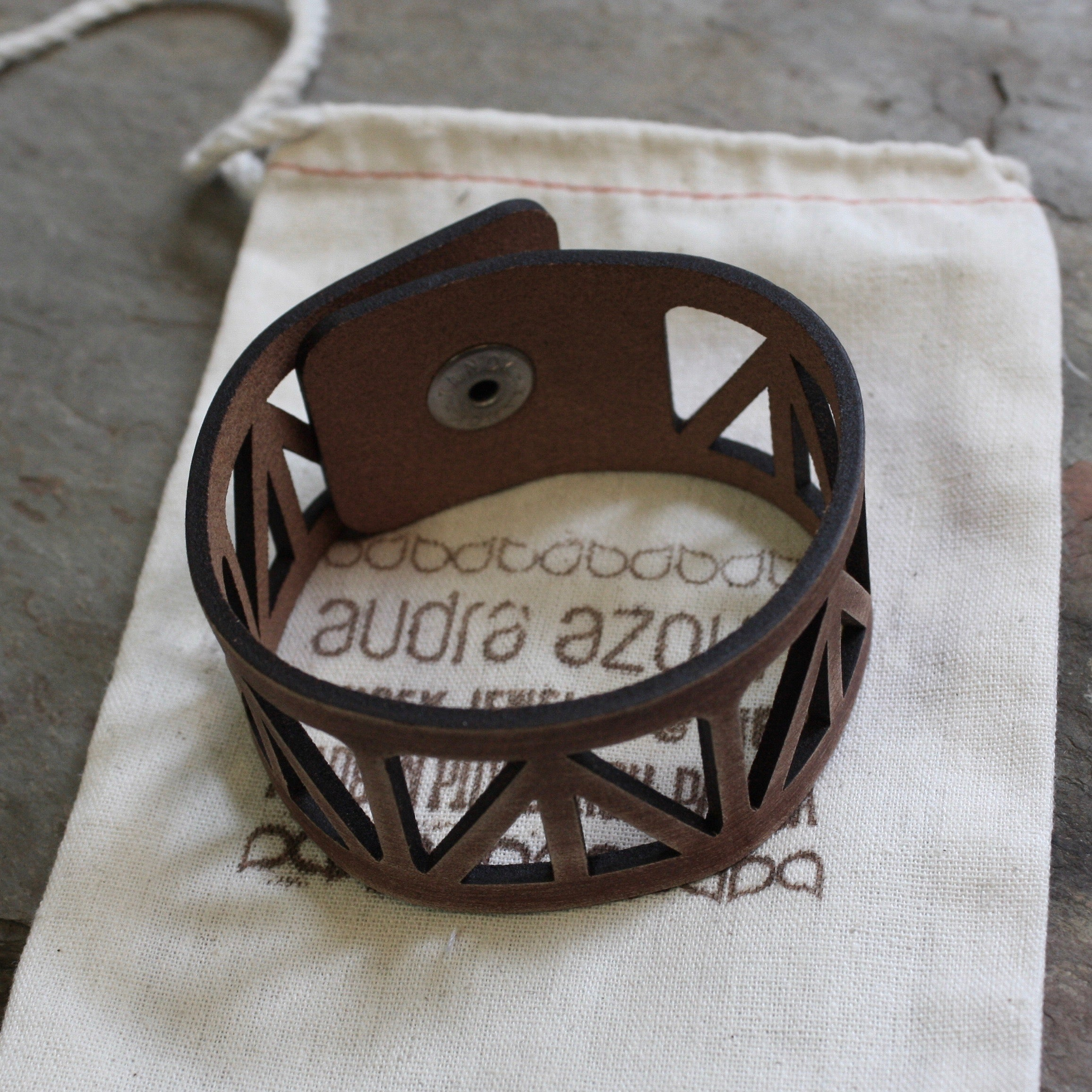 Leather Bracelet | FAT Peace