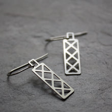 Load image into Gallery viewer, Bridge Truss Earrings | Hex Dangle by Audra Azoury