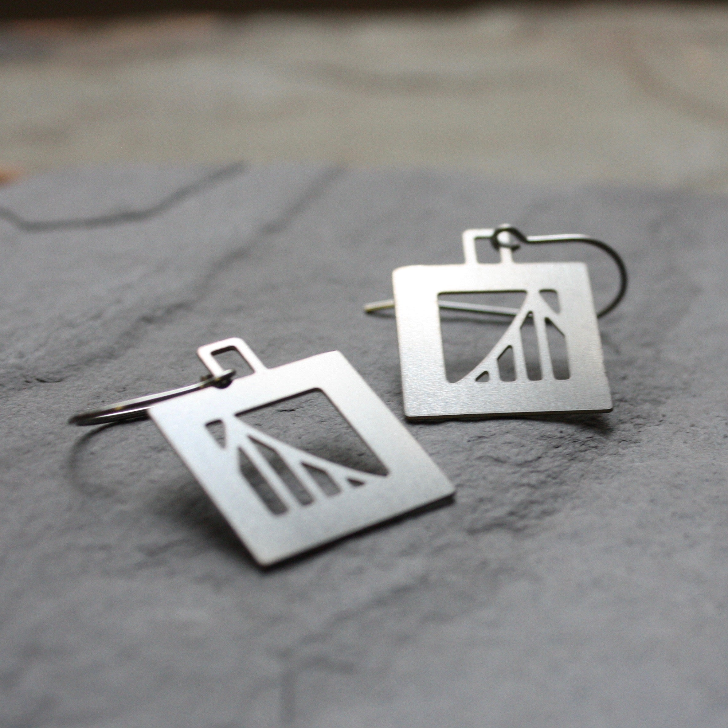Bridge Earrings | Suspension Bridge by Audra Azoury