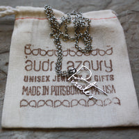 Pirates | Script Necklace