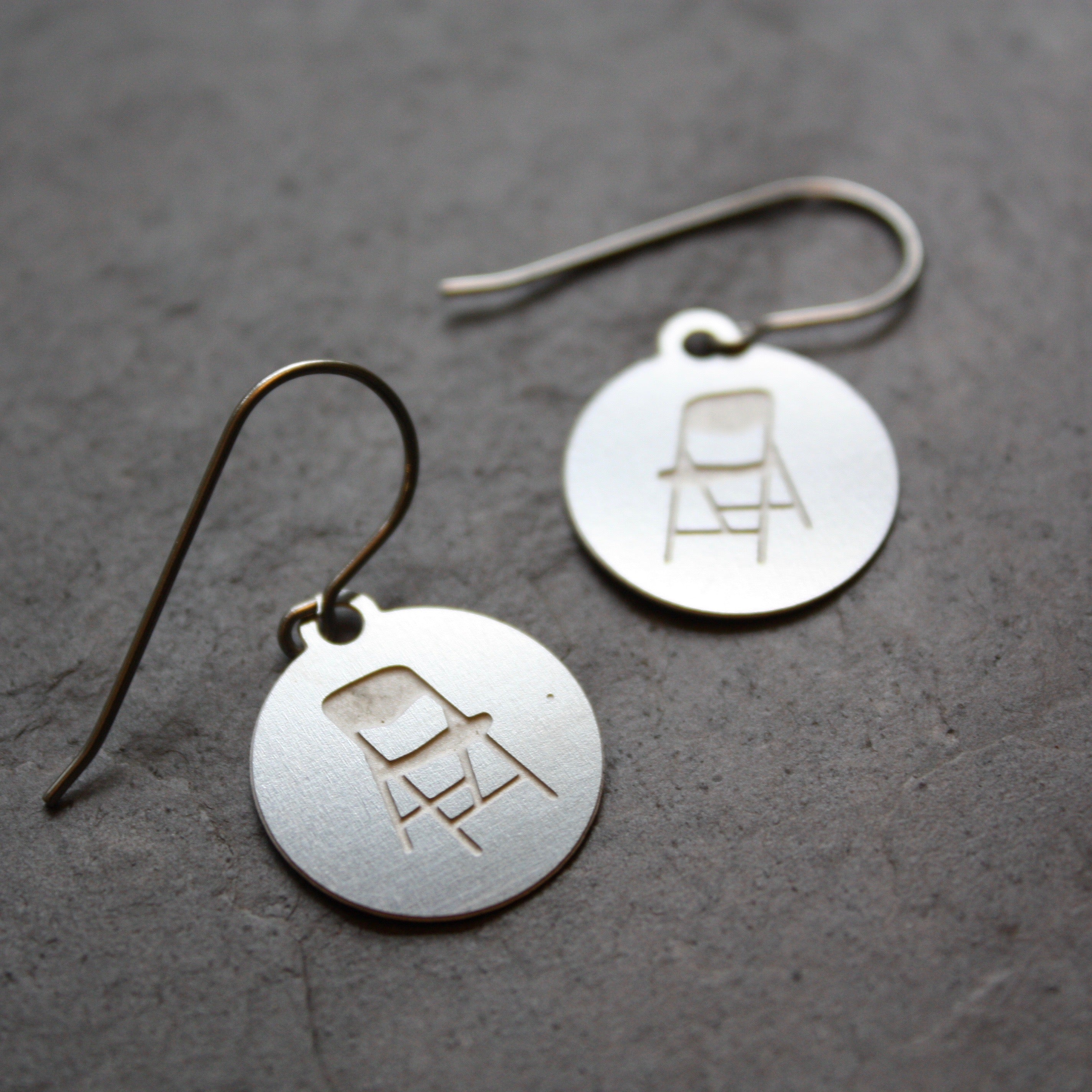 Mini-Parking chair  earrings