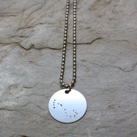 Zodiac Necklace | Scorpio 10/23- 11/21 by audra azoury