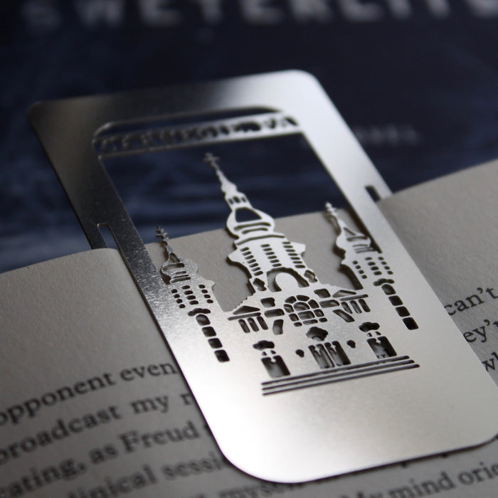 Carnegie, PA clip-on bookmark by Pittsburgh designer Audra Azoury
