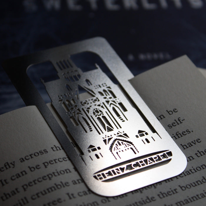 Heinz Chapel, Pittsburgh, PA clip-on Bookmark by Pittsburgh designer Audra Azoury