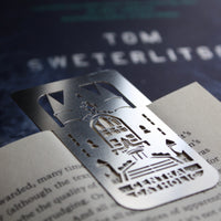 Central Catholic High School Oakland Pittsburgh Bookmark PA by Pittsburgh designer Audra Azoury