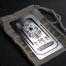 Load image into Gallery viewer, Heinz Chapel Oakland, PA Bookmark by Pittsburgh artist Audra Azoury
