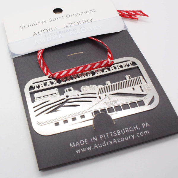 Pittsburgh Ornament | Trax Farms