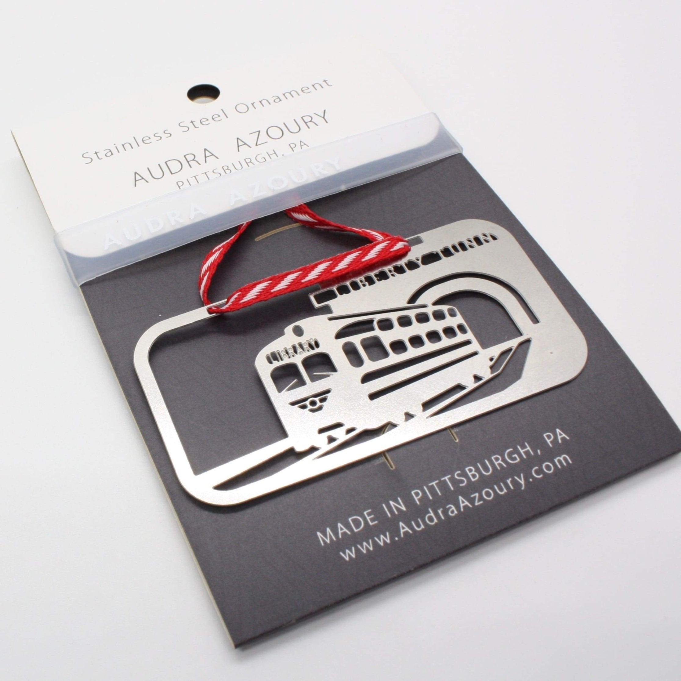 Pittsburgh Ornament | Trolley