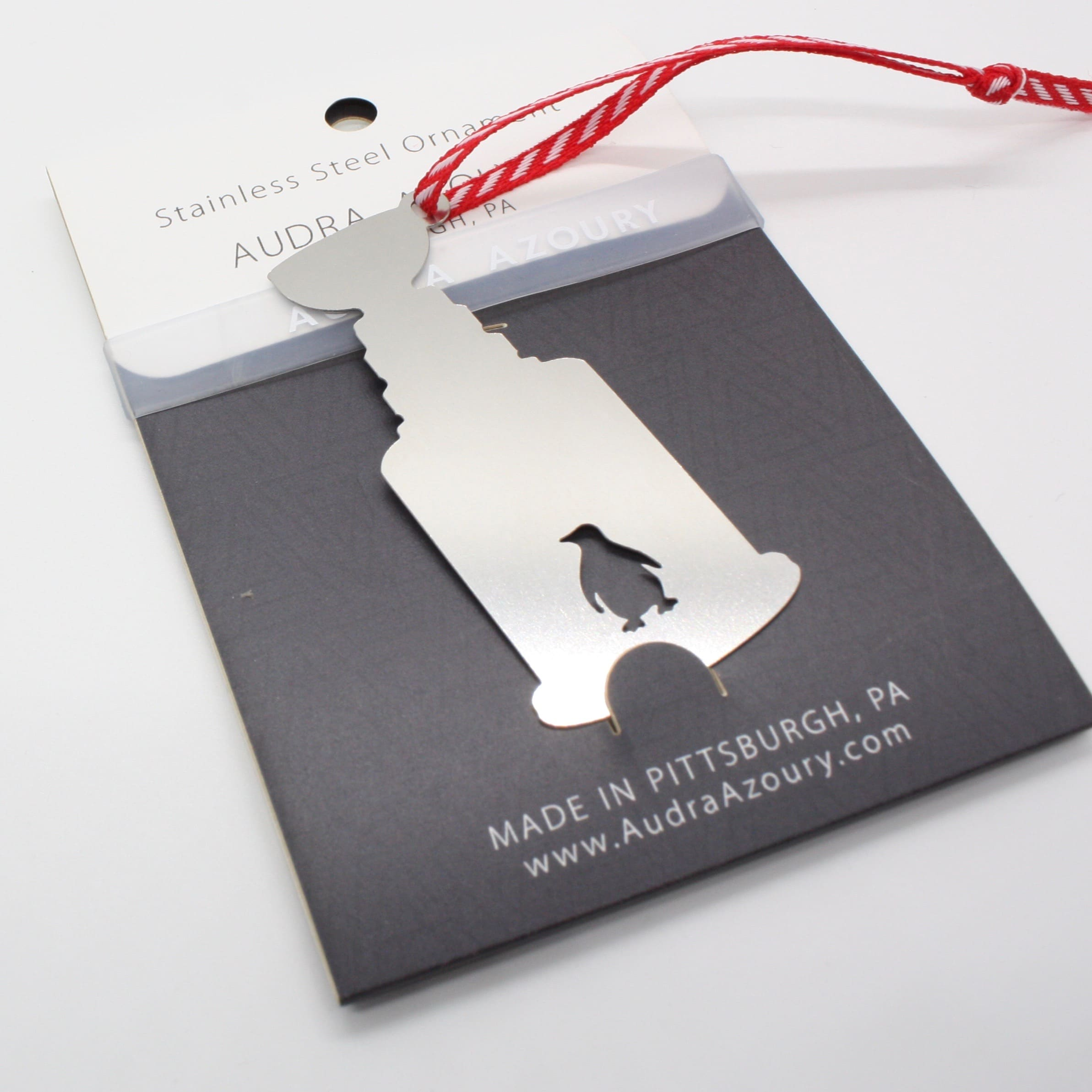 Pittsburgh Ornament | Cup with Penguin