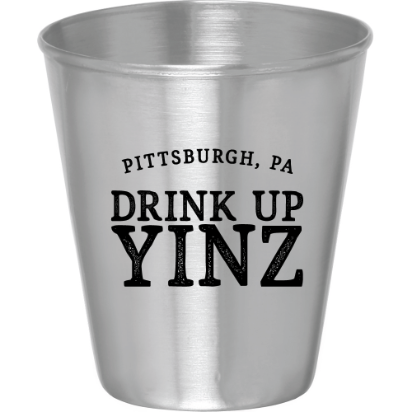 PITTSBURGHESE SHOT GLASS