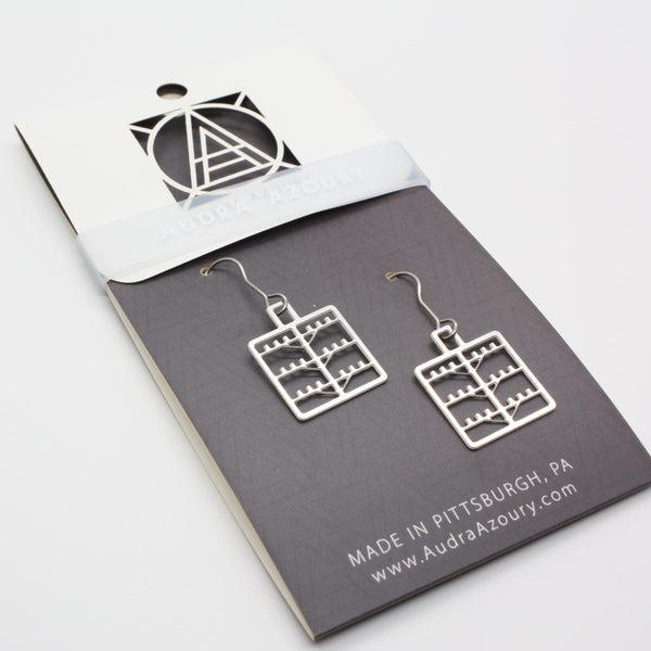 Telephone Pole Earrings