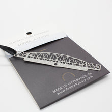 Load image into Gallery viewer, Pittsburgh Bridge Ornament | Fort Wayne Railroad