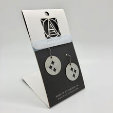 Load image into Gallery viewer, Pittsburgh Earrings | Steel Stars