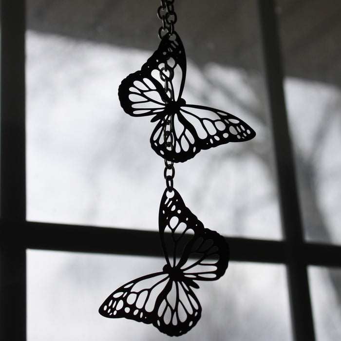 Stainless Steel Suncatcher | Butterflies by Audra Azoury
