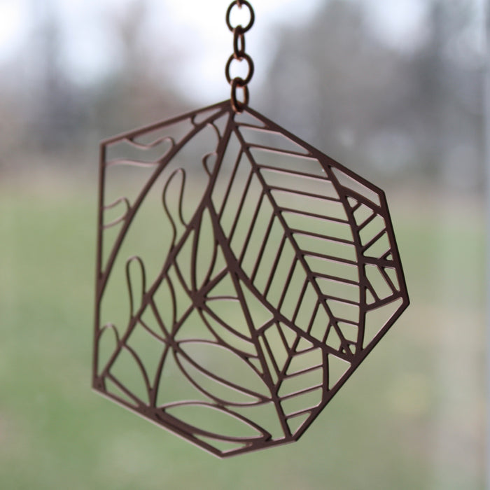 Suncatcher | Woodland Leaves by Audra Azoury